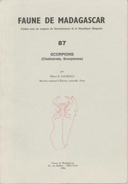 Faune de Madagascar: 87: Scorpions (Chelicerata, Scorpiones)