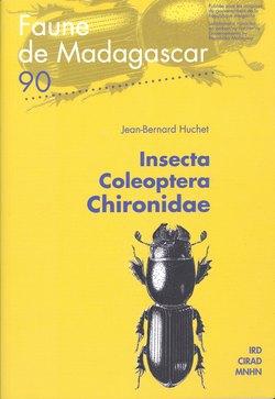 Faune de Madagascar: 90: Insecta: Coleoptera: Chironidae