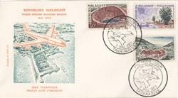 Série Touristique: Premier Jour d'Emission: Première Exposition Philatélique Malgache, Mai 1962