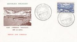 Pont Président Tsiranana' sur la Sofia: Premier Jour d'Emission