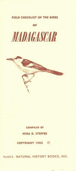 Field Checklist of the Birds of Madagascar