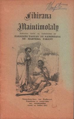 Fihirana Maintimolaly: Nohiraina tamin'ny fankalazana ny fahazato taonan'ny namonoana ny martiora farany
