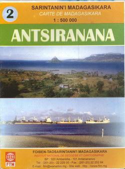 Sarintanan'i Madagasikara / Carte de Madagasikara: Antsiranana: No. 2