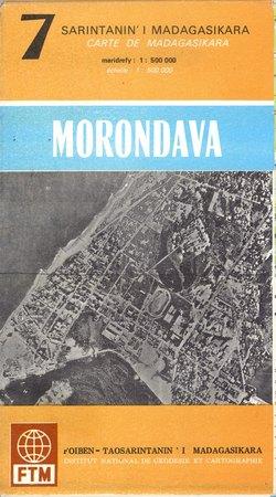 Sarintanan'i Madagasikara / Carte de Madagasikara: Morondava: No. 7