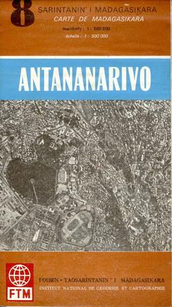 Sarintanan'i Madagasikara / Carte de Madagasikara: Antananarivo: No. 8