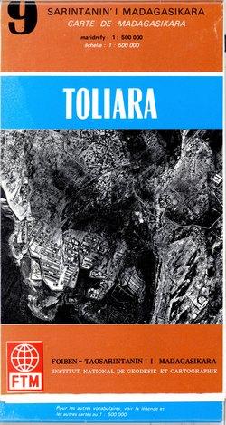 Sarintanan'i Madagasikara / Carte de Madagasikara: Toliara: No. 9
