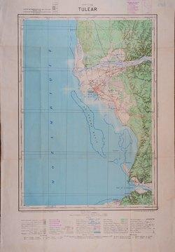 Tulear: Carte de Madagascar au 1:100000 - Feuille C58