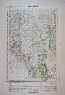 Ihosy-Nord: Carte de Madagascar au 1:100000 - Feuille K55