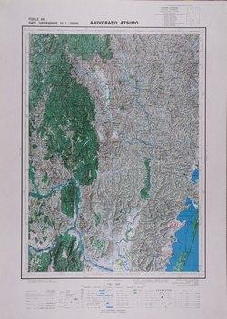 Anivorano-Atsimo: Feuille U46; Carte Topographique au 1:100000
