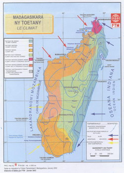 Madagasikara: Ny Toetany: Le Climat