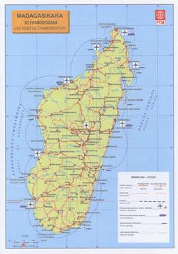 Madagasikara: Ny Fifamoivoizana: Les Voies de Communication