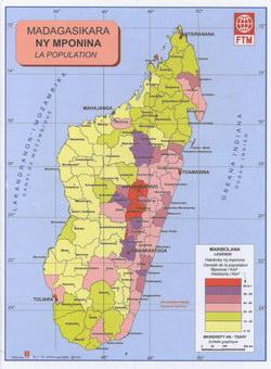 Madagasikara: Ny Mponina: La Population