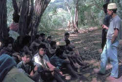 Scouts at camp: Ambositra