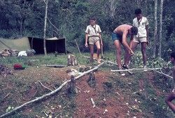 Scout camp patrol site: Ambositra