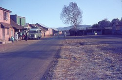 Morning frost on the grass at Sambaina