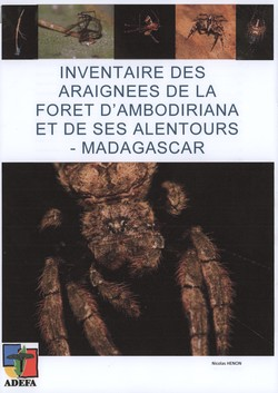 Inventaire des araign?es de la forêt d'Ambodiriana et de ses alentours – Madagascar: Inventory of spiders from Ambodiriana Forest and its surroundings – Madagascar