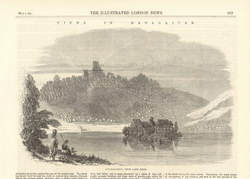 Views in Madagascar: Antananarivo from Lake Anosi: The Illustrated London News, May 2, 1863