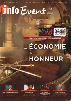 Info Event: No 04, Novembre 2016: Le Salon de l'Industrie de Madagascar