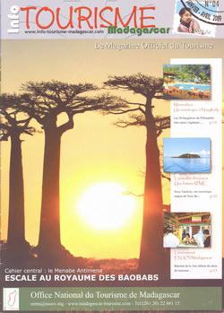 Info tourisme madagascar le magazine officiel du tourisme no 04 madagascar library - Office national du tourisme madagascar ...