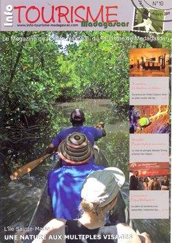 Info Tourisme Madagascar: No 10, Janvier-Avril 2011