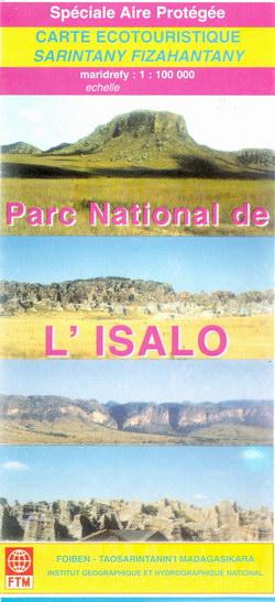 Carte Ecotouristique / Sarintanany Fizahantany: Parc National de l'Isalo: Spéciale Aire Protégée
