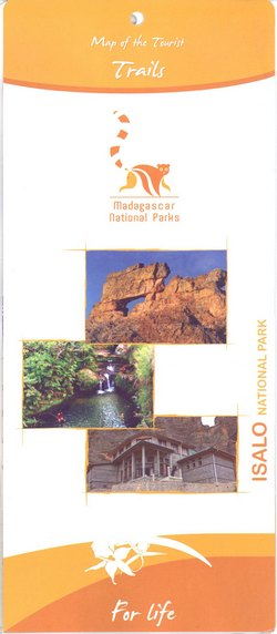 Isalo National Park: Map of the Tourist Trails