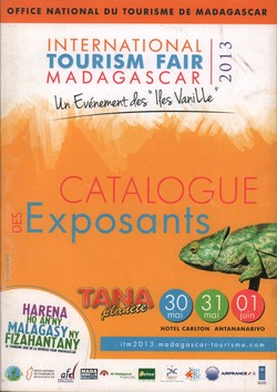 International Tourism Fair Madagascar 2013: Catalogue des Exposants