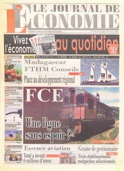 Le Journal de l'Economie: No 54 du 29 novembre 2010