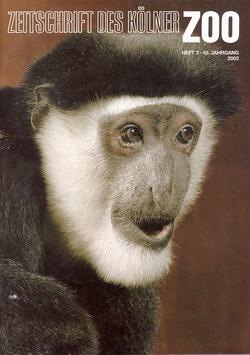 Zeitschrift des Kölner Zoo: Heft 3, 45 Jahrgang