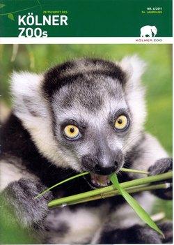 Zeitschrift des Kölner Zoos: Nr 4/2011, 54 Jahrgang