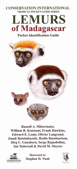 Lemurs of Madagascar: Pocket Identification Guide