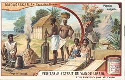 Forge et tissage / Paysage malgache