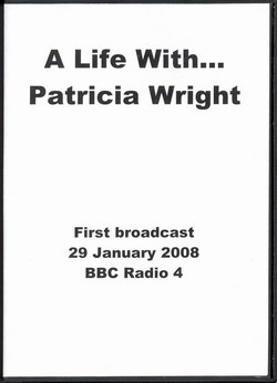 A Life With... Patricia Wright
