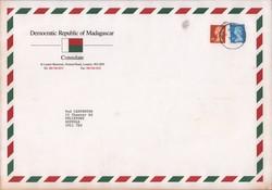 Madagascar London Consulate envelope
