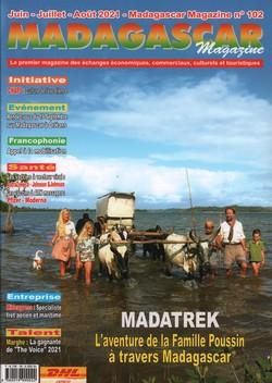 Madagascar Magazine: No. 102: Juin-Juillet-Août 2020