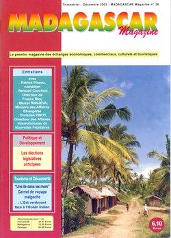 Madagascar Magazine: No. 28: Décembre 2002