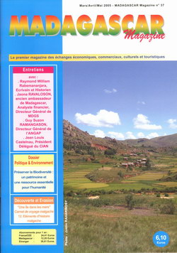 Madagascar Magazine: No. 37: Mars/Avril/Mai 2005