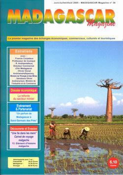 Madagascar Magazine: No. 38: Juin/Juillet/Août 2005