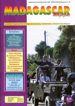 Madagascar Magazine: No. 39: Septembre/Octobre/Novembre 2005