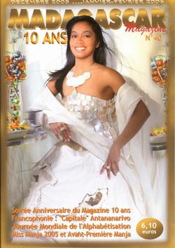 Madagascar Magazine: No. 40: Décembre 2005... Janvier-Février 2006: 10 Ans
