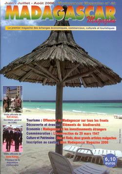 Madagascar Magazine: No. 42: Juin-Juillet-Août 2006