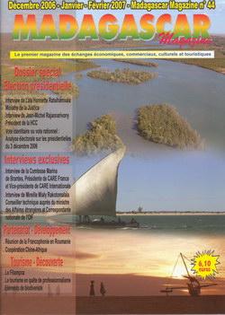 Madagascar Magazine: No. 44: Décembre 2006-Janvier-Février 2007