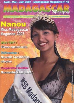 Madagascar Magazine: No. 46: Avril-Mai-Juin 2007