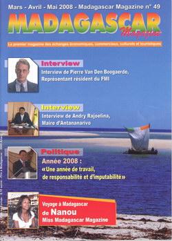 Madagascar Magazine: No. 49: Mars-Avril-Mai 2008