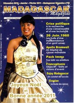 Madagascar Magazine: No. 60: Décembre 2010-Janvier-Février 2011