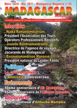 Madagascar Magazine: No. 65: Mars-Avril-Mai 2012