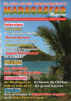 Madagascar Magazine: No. 66: Juin-Juillet-Août 2012