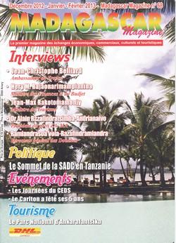 Madagascar Magazine: No. 68: Décembre 2012-Janvier-Février 2013