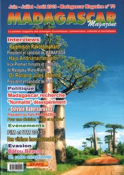 Madagascar Magazine: No. 70: Juin-Juillet-Août 2013