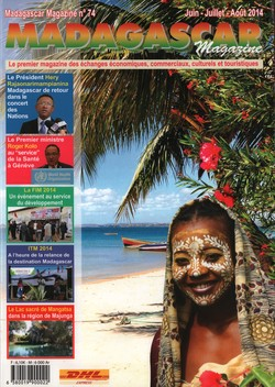Madagascar Magazine: No. 74: Juin-Juillet-Août 2014